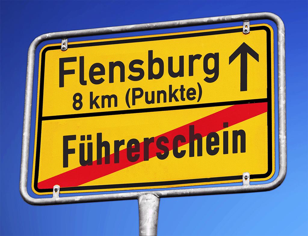 Wie funktioniert das Flensburger Punktesystem?